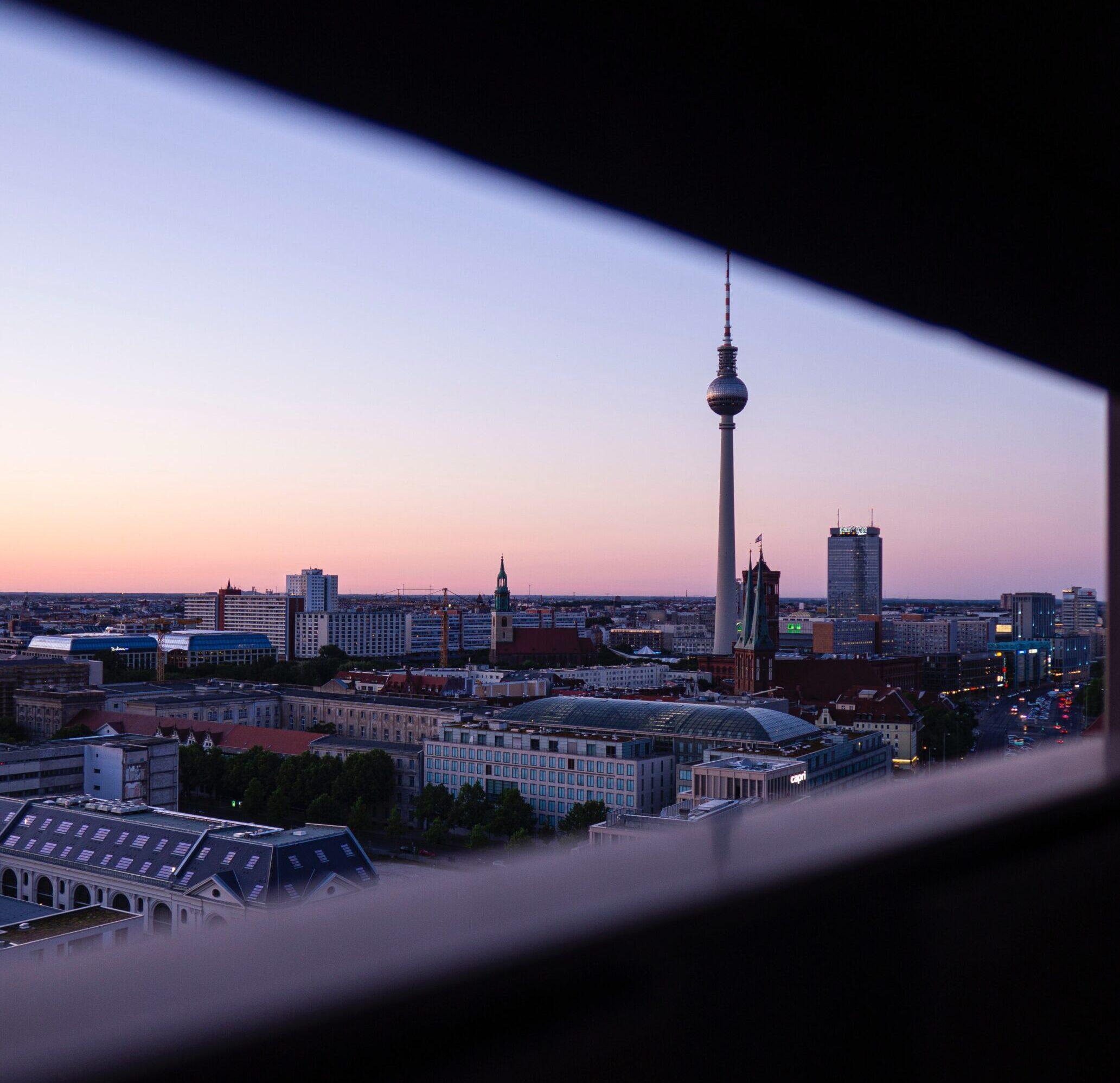 Berlin Fernsehturm Ausblick