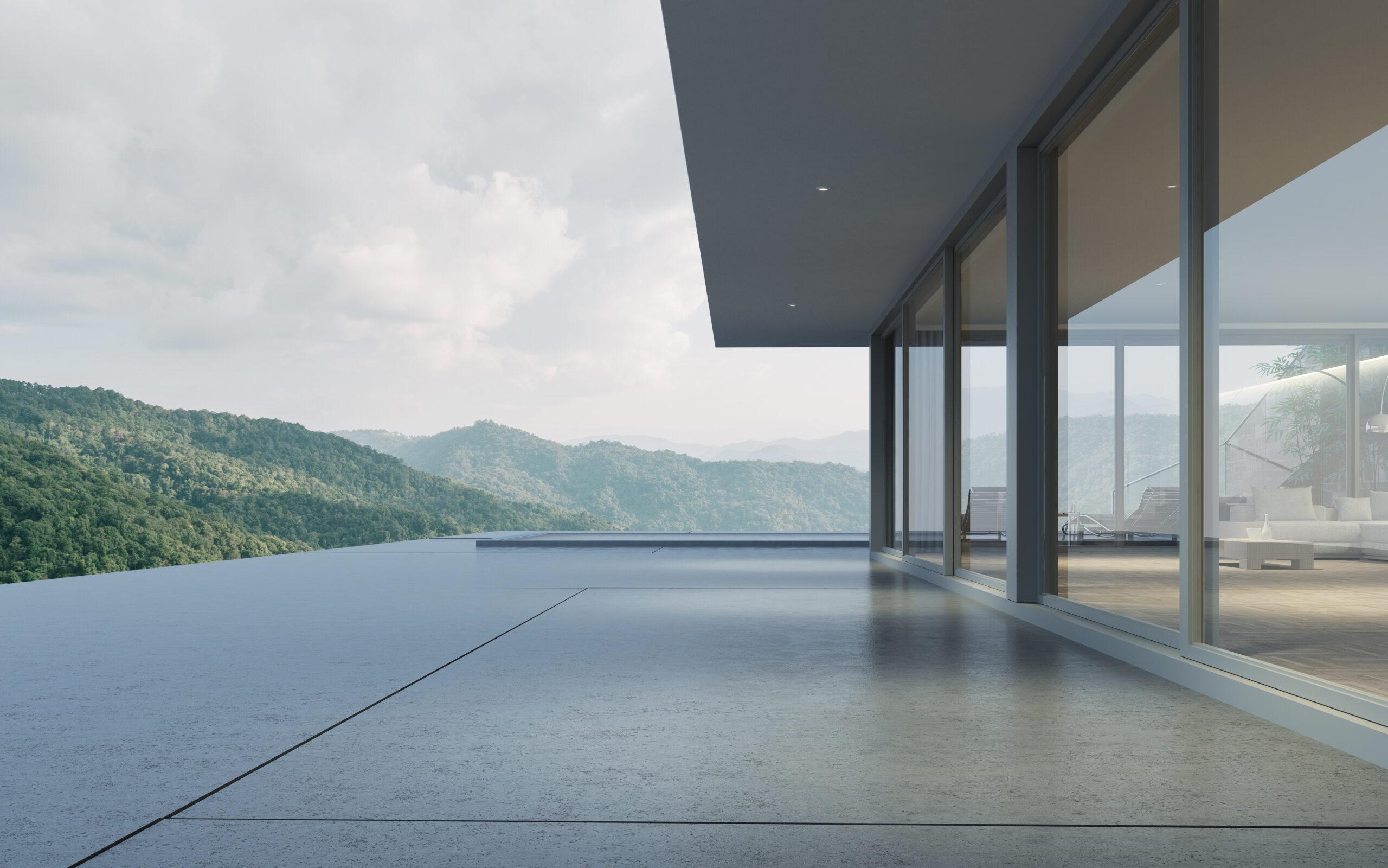 Penthouse mit Infinity Pool